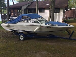 Four Winns 170 Freedom Fish and Ski Outboard