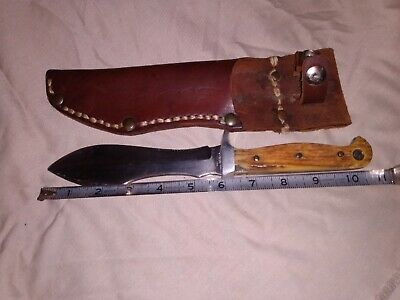 Carl Schlieper Bowie Eye Brand Knife