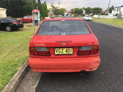 1997 Red Nissan Pulsar Sedan - Need Gone ASAP