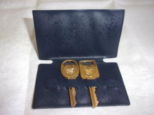GOLD CADILLAC KEYS C & D IN PRESENTATION CASE