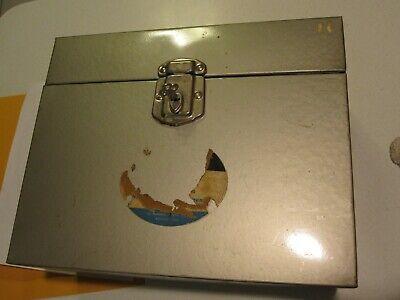File Box Key Hamilton Steel Storage Usa 12.5x10x5.5 Portable Case Excelsior Lock