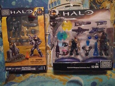 2x Mega Bloks Halo UNSC AMMO pack Covenant Weapons CNH22 Customizer Packs (Halo Mega Bloks Covenant Weapons Pack 2)