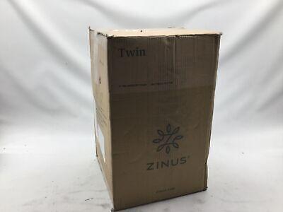 NEW Zinus 3 Inch Gel Memory Foam Mattress Topper, Twin FREE2
