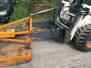 Skid steer 3 Point Hitch adapter