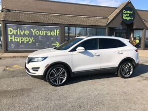 2015 Lincoln MKC RESERVE / LEATHER / SUNROOF / NAVI / COOLED SEA