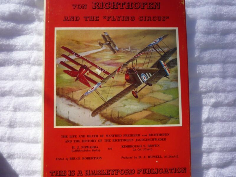 VON RICHTHOFEN AND THE FLYING CIRCUS BOOK