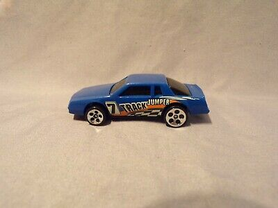 Hot Wheels Track Jumper Chevy Monte Carlo Blue 1988 Super Cool Car