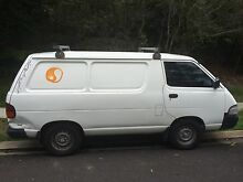 BACKPACKERS CAMPERVAN 1995 Toyota Townace Van Byron Bay Byron Area Preview