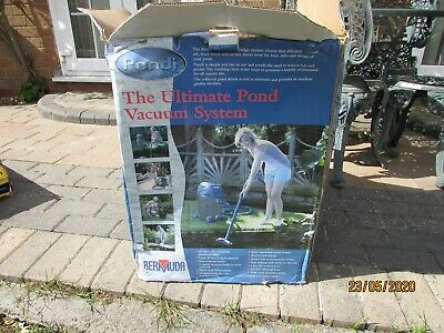 Bermuda BER176 Pondi ultimate pond vacuum system new,  cash on collection.