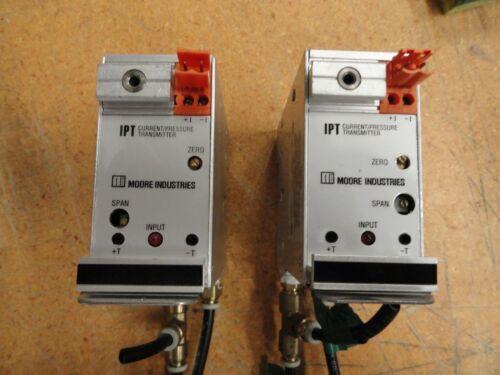 Moore Industries IPT Current/Pressure Transmitter, IPT/4-20MA/3-15PSIG/20PSI-FA8