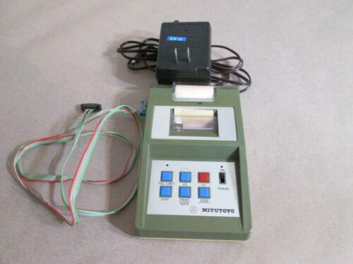 Mitutoyo Digimatic Mini-Processor DP-1, 264-500-1, Adaptor, Interface Cable