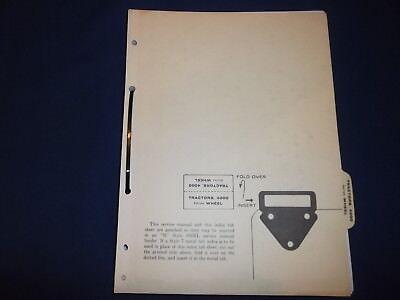 John Deere 6300 6400 Bulldozer Technical Service Shop Repair Manual Book Sm-2083