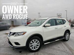 2015 Nissan Rogue S No Accidents One Owner  FREE Delivery