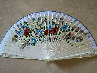 España Flamenco Abanicos Mano Ventilador Plegable Compartimentos de Madera A
