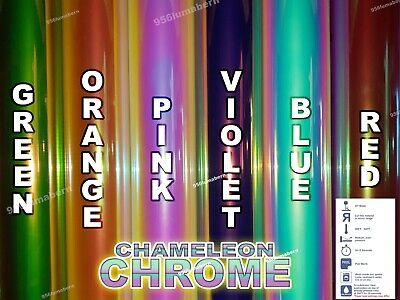 1 Yard Roll Chameleon Chrome Htv Heat Transfer Vinyl 20x3feet