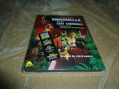 Emanuelle and the Last Cannibals (1977) [Region: A Blu-ray] LIMITED EDITION ](The Last Halloween Dvd)
