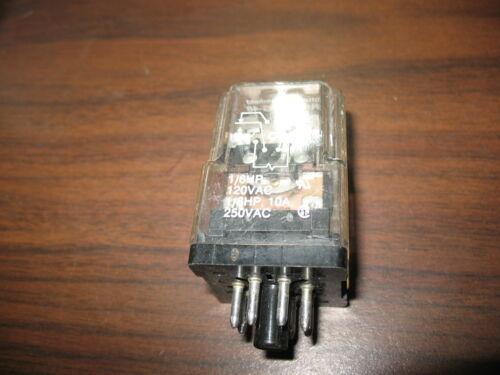 Potter & Brumfield KRPA-11DG-48 Relay (48 VDC, 8 Pin Round)