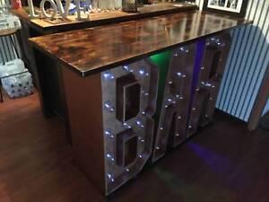 Light up Bar hire $200