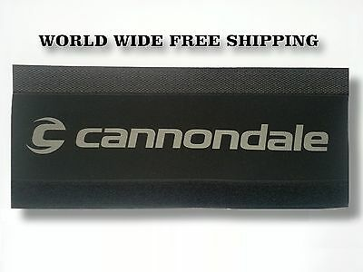 27.5er CANNONDALE Bike Chain Protector Pad Wrap Frame Protection Cover Black