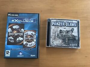 Jeux PC World War II & Rise of Nations