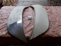 Chevrolet Stainless Steel Skirt Scuff Pad for 1965 1966 Chevy Fender Skirt 65 66
