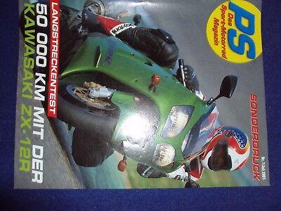 PS Sportmagazin Sonderdruck: 7/2001, Langstreckentest 50000 km Kawasaki ZX 12