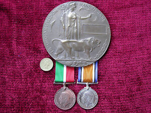 Mercantile-Marine-Replica-Copy-WW1-Casualty-Group-Medals-Memorial-Plaque