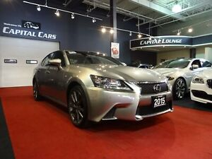 2015 Lexus GS 350 F SPORT / AWD / NAVIGATION / BACK UP CAMERA