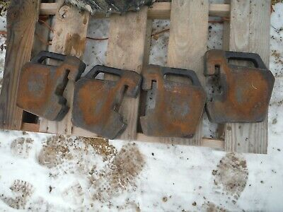 4 Case Ih 255 Tractor Suitcase Weights