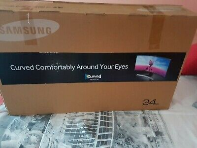 """Samsung S34E790C 34"""" LED Ultra WQHD perfecto estado clable incluido Displaypo"""