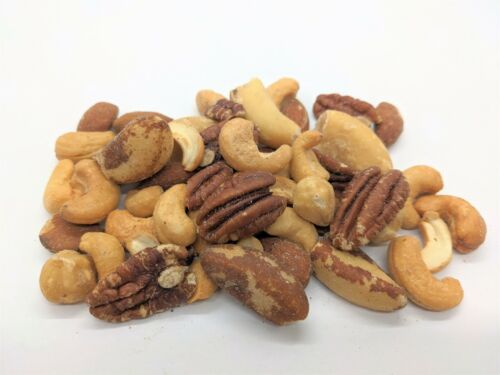 MIXED NUTS - Deluxe Roasted / Salted Mixed Nuts (No Peanuts) - Select Weight