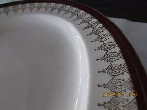 Antique Serving Plate Ferndale Canning Area Preview
