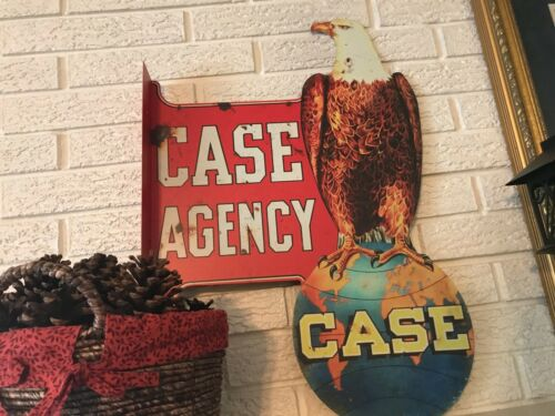 Reproduction Case Agency Eagle Laser Cut Out DS Flanged Sign Abe the Eagle DL