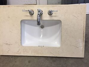 Bathroom granite sink