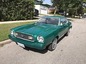1977 FORD MUSTANG II PONY CAR MANUAL ONLY 36,000km!