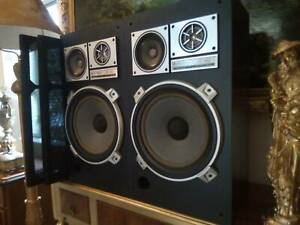 JAPANESE 1970S VINTAGE SPEAKERS  KENWOOD LSK400