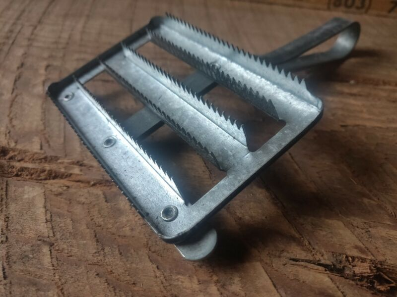 Anchor Curry Comb Horse Brush Equestrian Stable Tack