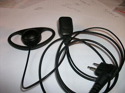 Motorola HYT 2 Pin D Shape Earpiece Microphone GP300 CP040 XTN HYT TC610, JOBLOT