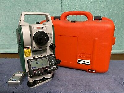 Very Clean Sokkia Set5 50rx Reflectorless 5 Total Station Red-tech Ii Set550rx