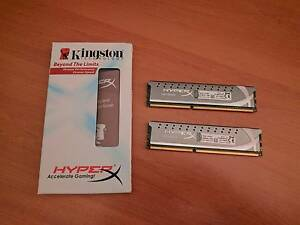 Kingston HyperX 8GB (2x4GB) DDR3 1600MHz Memory Ringwood North Maroondah Area Preview