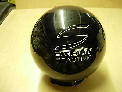 """11 4oz """"original Texas Columbia"""" 2006 Scout/r Solid Black Reactive Bowling Ball"""
