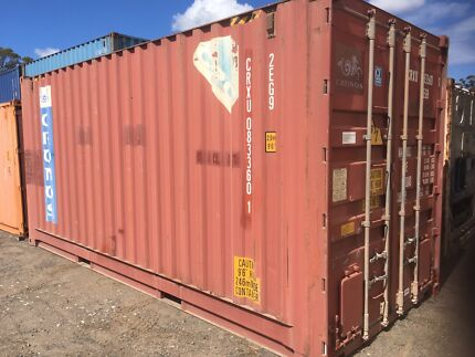 20ft Bulker Shipping Container  Chemical Storage