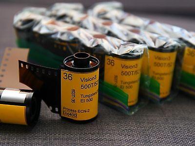Пленка 35mm-Kodak Vision3 500T/5219 motion picture
