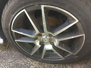 "For sale set of 4, 16"" alloy rims to suit Holden Astra Maryborough West Fraser Coast Preview"
