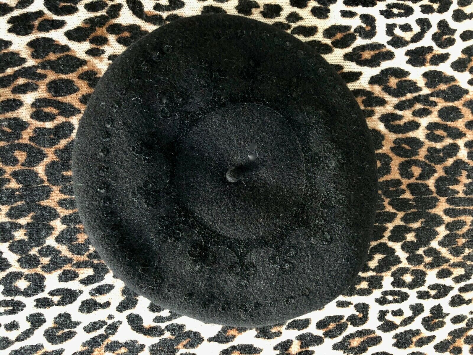Béret bonnet chapeau noir