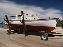 GAFF RIGGED & DIESEL POWERED JARRAH FISHING BOAT SWAP Cooloongup Rockingham Area Preview