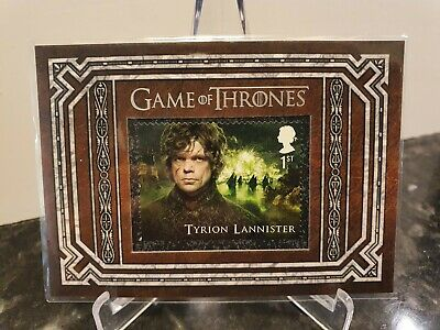 Game of Thrones Stamp Tyrion Lannister Inflexions S3 Limited Edition