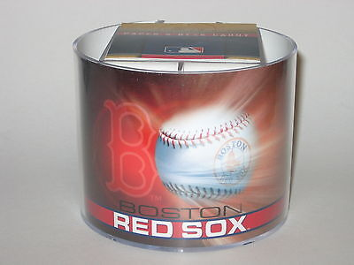 (Boston Red Sox Team Logo Desk Caddy with 750 Sheet Note Pad)