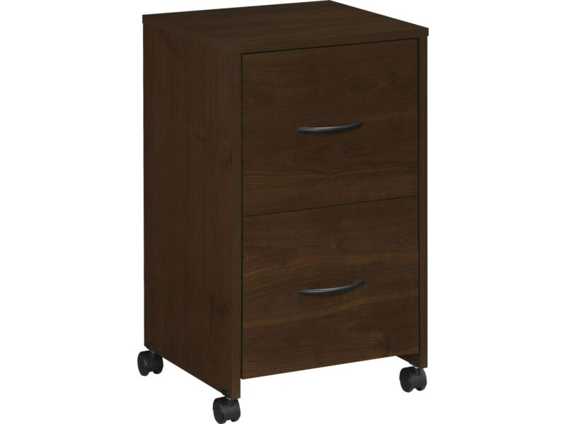 Easy 2 Go 2-Drawer Vertical File Cabinet Mobile/Pedestal Letter 951565