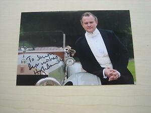 Hugh Bonneville (Downton Abbey) hand signed RARE **FREE POST**